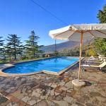 Ferienhaus Toskana mit Pool und Hund TOH409 Terrasse am Pool