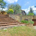 Ferienhaus Toskana mit Pool und Hund TOH409 Treppe