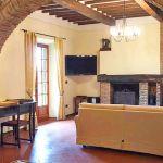 Ferienhaus Toskana mit Pool und Hund TOH409 Wohnbeeich