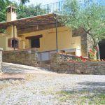 Ferienhaus Toskana mit Pool und Hund TOH409 Zufahrt zum Haus