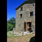 Ferienhaus Toskana mit Pool und Hund  TOH765 - Eingang ins Haus