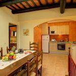 Ferienhaus an der Costa Brava CBV2164 Küche mit Esstisch