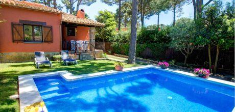 Ferienhaus an der Costa Brava Begur 2164 mit Pool für 4 Personen mieten. Anreise- und Abreisetag Samstag.