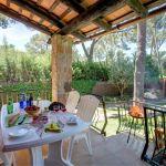 Ferienhaus an der Costa Brava CBV2164 Terrasse mit Gartenmöbel