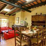 Ferienhaus an der Costa Brava CBV2164 Wohnbereich mit Esstisch