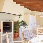 Luxus Ferienhaus Mallorca MA3996 Grillbereich