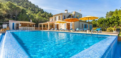 Mallorca Südostküste – Luxusfinca Felanitx 53375 mit großem Pool, Whirlpool und separatem Kinderpool. Wechseltag Samstag. 2019 buchbar.