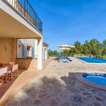 Luxusfinca Mallorca MA53375 Terrasse am Pool