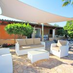 Ferienhaus Mallorca MA33403 Gartenmöbel unter Sonnensegel