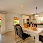 Ferienhaus Mallorca MA33403 Küche mit Esstisch