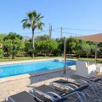 Ferienhaus Mallorca MA33403 Sonnenliegen am Swimmingpool