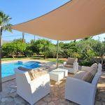 Ferienhaus Mallorca MA33403 Terrasse am Pool mit Sonnensegel