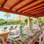 Ferienhaus Mallorca MA33403 Terrasse mit Esstisch