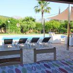 Ferienhaus Mallorca MA33403 Terrasse mit Gartentisch