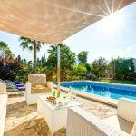 Ferienhaus Mallorca MA33403 Terrasse mit Sonnensegel