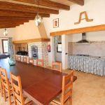Luxus-Ferienhaus Mallorca MA4811 Grillhaus mit Esstisch