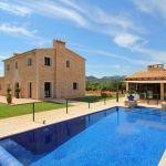 Luxus-Ferienhaus Mallorca MA4811 umzäunter Pool