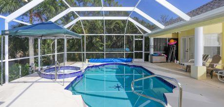Villa Florida Rotonda 5005 mit beheizbarem Pool und Whirlpool für 10 Personen. Wechseltag flexibel – Mindestmietzeit 5 Tage / 1 Woche.