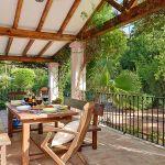 Ferienhaus Costa del Sol CSS5008 überdachte Terrasse mit Esstisch