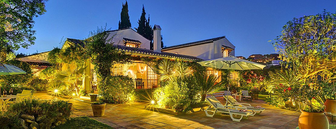 Ferienhaus Costa del Sol CSS5008 Abendbeleuchtung
