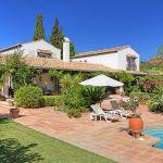 Ferienhaus Costa del Sol CSS5008 Garten mit Pool