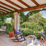 Ferienhaus Costa del Sol CSS5008 Gartenmöbel auf der Terrasse
