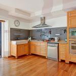 Ferienhaus Costa del Sol CSS5008 Küche mit Zugang zum Garten