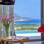 Ferienhaus Kreta KV23165 Blick auf Pool und Meer