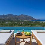Ferienhaus Kreta KV23165 Meerblick vom Swimming-Pool