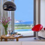 Ferienhaus Kreta KV23165 Schlafzimmer mit Meerblick