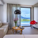 Ferienhaus Kreta KV23165 Sitzecke mit TV