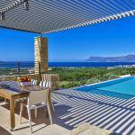 Ferienhaus Kreta KV23165 Terrasse am Pool mit Gartenmöbel
