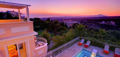 Ferienhaus Kreta Triada 32303 mit Pool und Meerblick für 6 Personen. An- und Abreisetag Dienstag.