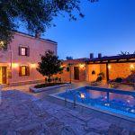 Ferienhaus Kreta KV32304 Abendbeleuchtung