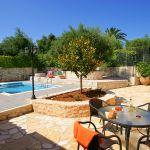 Ferienhaus Kreta KV32304 Terrasse mit Gartenmöbel