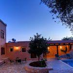 Ferienhaus Kreta KV32304 beleuchtete Terrasse
