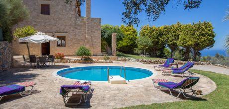 Ferienhaus Kreta Triada 33379 mit privatem Pool und Internet für 6 Personen. An- und Abreisetag Dienstag.