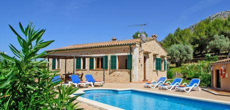 Mallorca Nordküste – Ferienhaus Pollensa 3361 mit Pool in idyllischer Lage, Grundstück 102.000qm, Wohnfläche 175qm. An- und Abreisetag nur Samstag. Sonderpreise Mai – 2018 jetzt buchen!