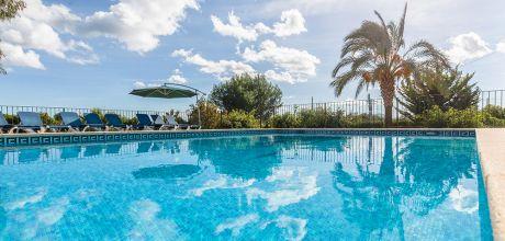 Mallorca Nordküste – Finca Pollensa 43466 mit eingezäuntem Pool und Internet. An- und Abreisetag Samstag.