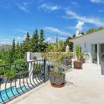 Villa Costa del Sol CSS4111 Balkon mit Blick auf den Pool