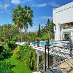 Villa Costa del Sol CSS4111 Blick in den Garten