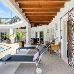 Villa Costa del Sol CSS4111 Sonnenligen auf der Terrasse