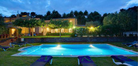 Ferienhaus Regencos 8190 mit privatem Pool und Internet für 16 Personen. An- und Abreisetag Samstag.