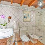 Ferienhaus Gran Canaria GC2024 Badezimmer mit Dusche