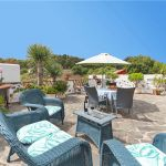 Ferienhaus Gran Canaria GC2024 Grillbereich mit Gartenmöbel