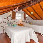 Ferienhaus Gran Canaria GC2024 Schlafraum mit 2 Betten