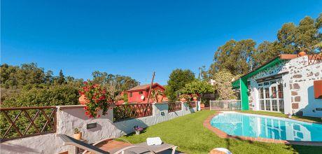 Ferienhaus Gran Canaria Firgas 2024 mit privatem Pool für 4 Personen mieten. An- und Abreisetag flexibel – Mindestmietzeit 1 Woche.