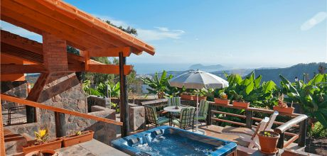 Ferienhaus Gran Canaria Arucas 2060 mit privatem Jacuzzi für 4 – 5 Personen mieten. An- und Abreisetag flexibel – Mindestmietzeit 1 Woche.