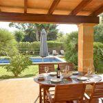 Ferienhaus Mallorca MA2050 Blick in den Garten