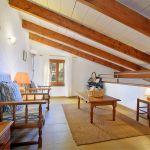 Ferienhaus Mallorca MA2050 Empore mit Sitzmöglichkeiten